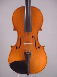 Archimedarchi Violin, 2014 - Top - Antiqued Strad model