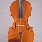 """Violino, Giuseppa Modica, modello Guarneri del Gesù """"Kreisler"""", costruito nel 2014, tavola"""